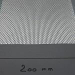 Polyester fabrics lenght 200mm
