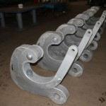 Quick release hook SWL 150 Tons