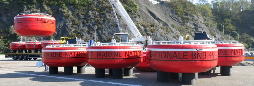 Mooring Buoys delivery for Brest Naval Base [BNB]