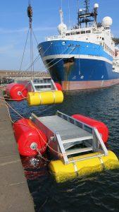 Pontons port de Dunkerque